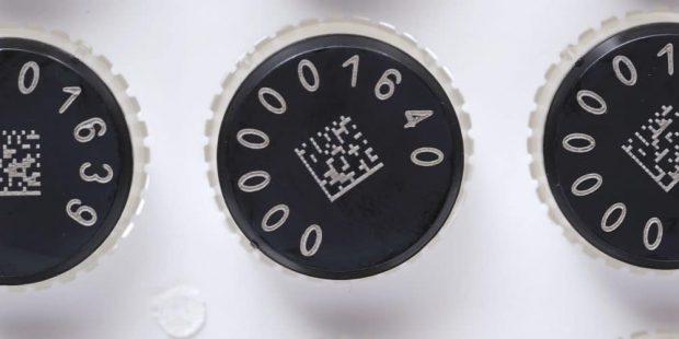 2D matrix coded tubes